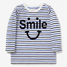 Smile Stripe Tee  VINTAGE WHITE  hi-res