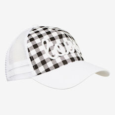 Check Love Cap  BLACK  hi-res