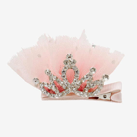 Tiara And Tulle Clip  PINK  hi-res