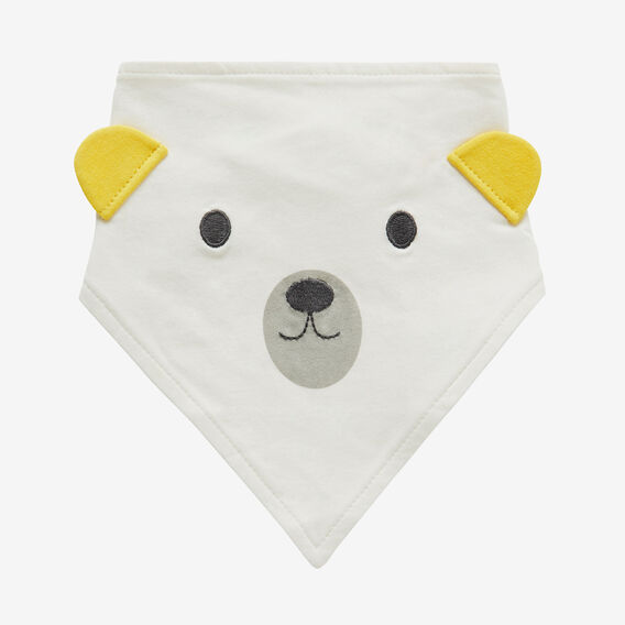 Bear Bib  CANVAS  hi-res