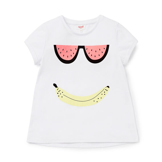 Fruit Sunnies SS Tee  WHITE  hi-res