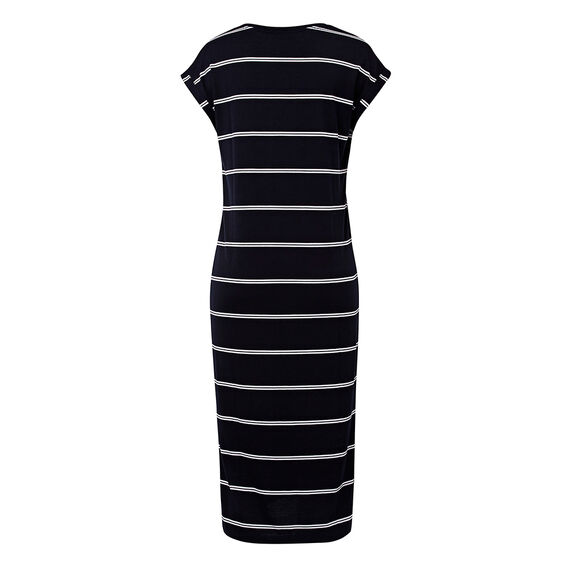 Stripe Tee Dress  INK BLUE/WHITE STRIP  hi-res