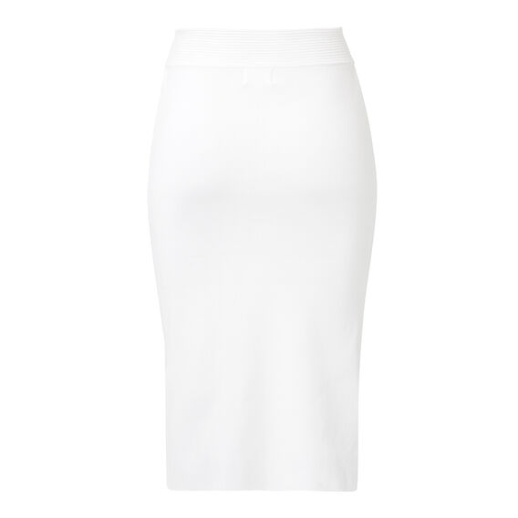 Collection Crepe Lace Midi Skirt  CREAM  hi-res