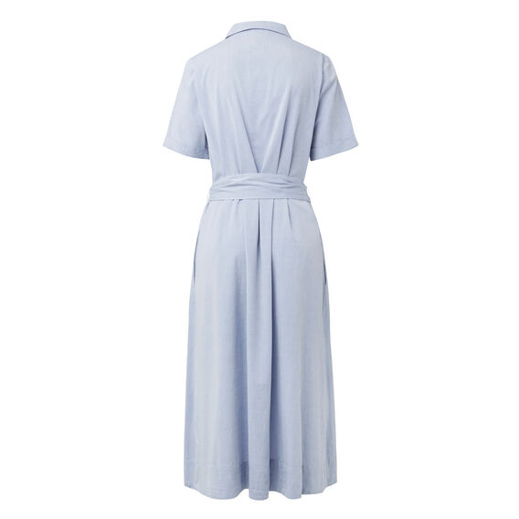 Cotton Shirt Dress  CHAMBRAY  hi-res