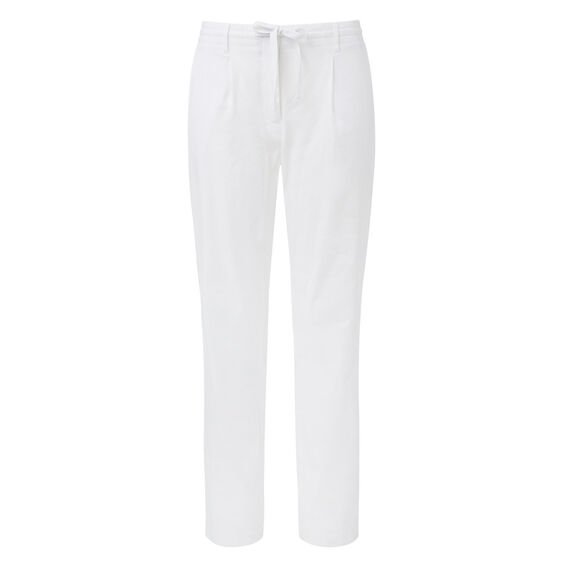 Tapered Textured Pant  WHITE  hi-res