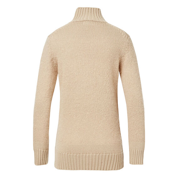 Feather Panel Roll Neck  WASHED ESPRESSO  hi-res