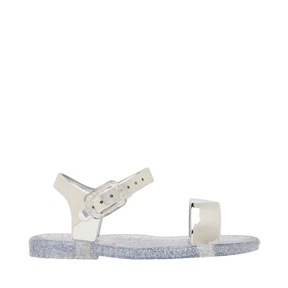 Single Strap Jelly  SILVER  hi-res