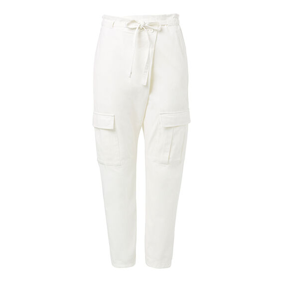 Wrap Front Cargo Pant  LIGHT BONE  hi-res