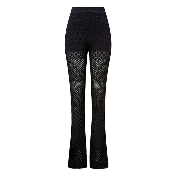 Collection Crepe Lace Flare  BLACK  hi-res