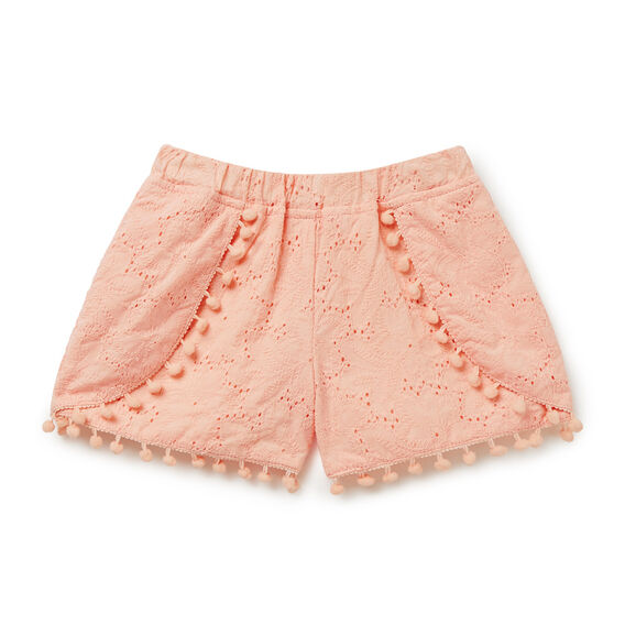 Broderie Shorts  FUZZY PEACH  hi-res