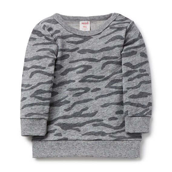 Animal Print Sweater  PATCHY MARLE  hi-res