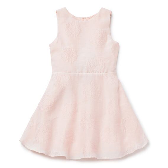 Open Back Spot Dress  PEACH BLOSSOM  hi-res