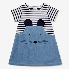 Mouse Splice Dress  CHAMBRAY  hi-res