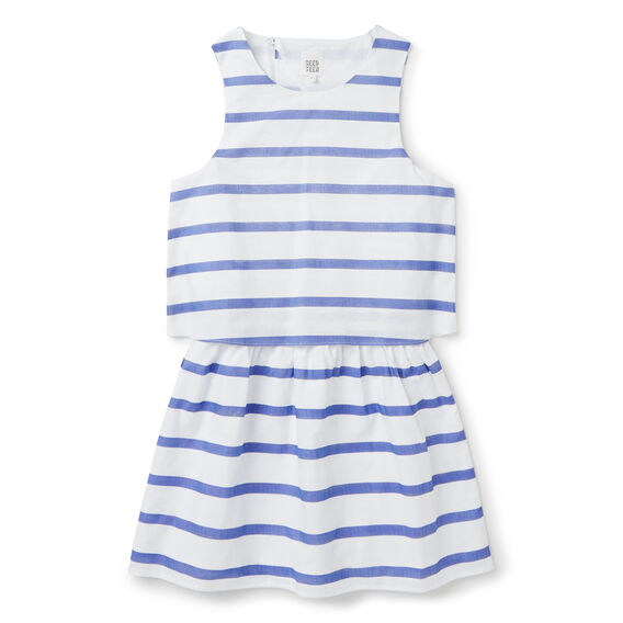 Double Layer Dress  BLUE MARINE  hi-res