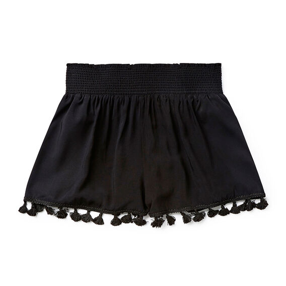 Fringe Short  BLACK  hi-res