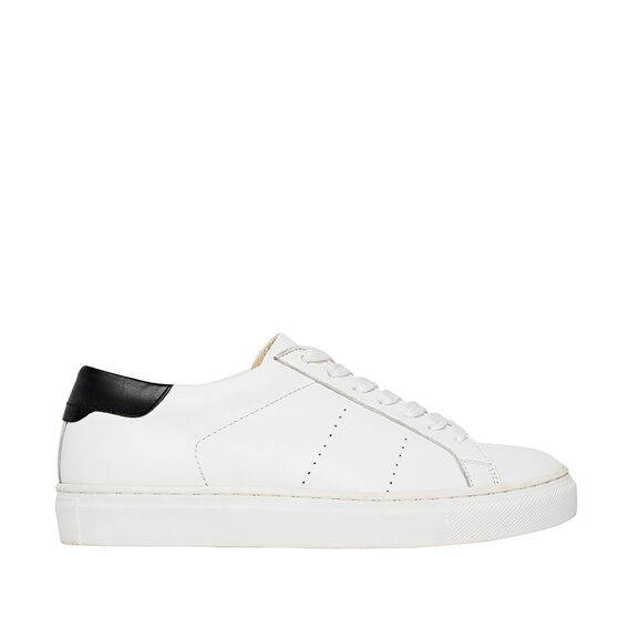 Georgina Lace Up Sneaker  WHITE  hi-res