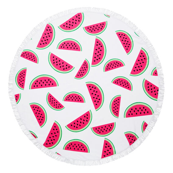 Giant Round Towel  WATERMELON  hi-res