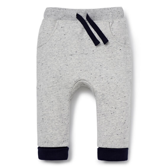 Bum Patch Trackie  CLOUDY MARLE  hi-res