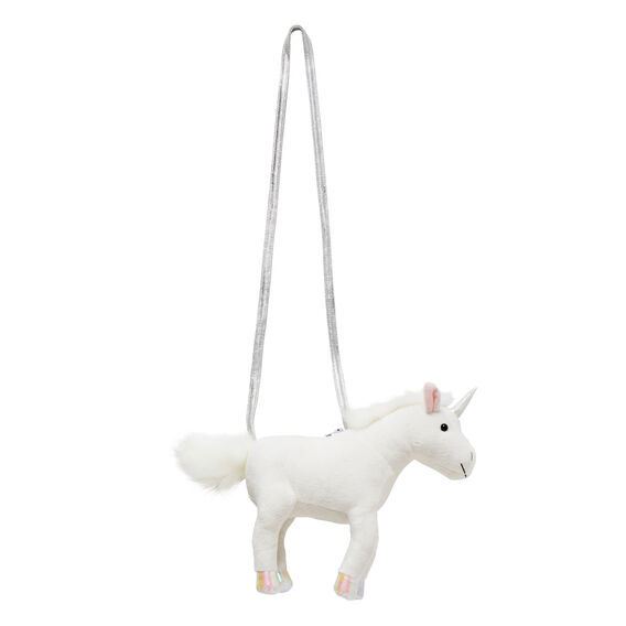 Plush Unicorn Bag  WHITE  hi-res