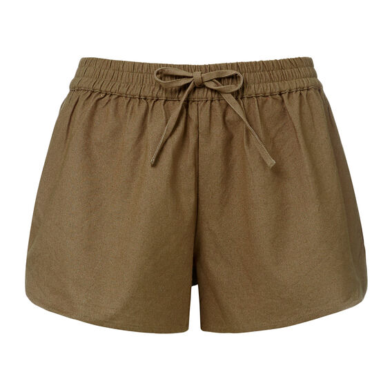 Cotton Tie Short  OLIVE  hi-res