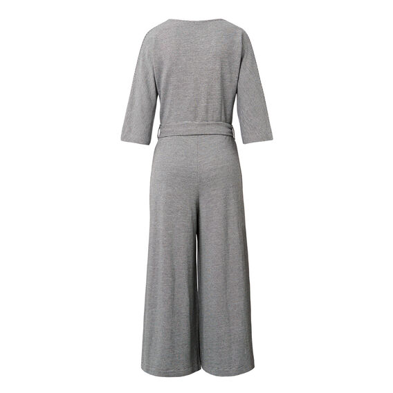 Knit Culotte Jumpsuit  MULTI  hi-res