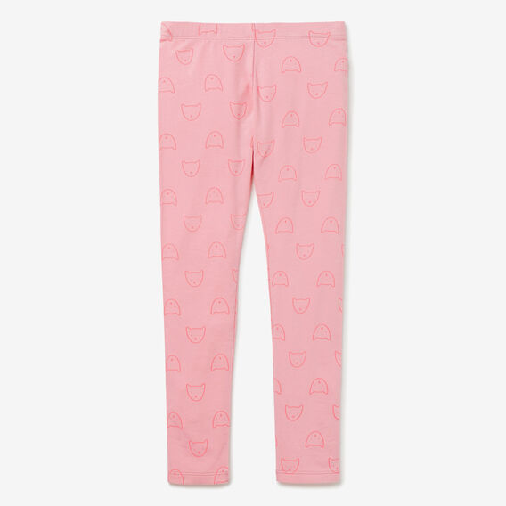 Kitty Face Legging  CANDY PINK  hi-res