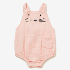 Cheesecloth Novelty Onesie  APRICOT  hi-res