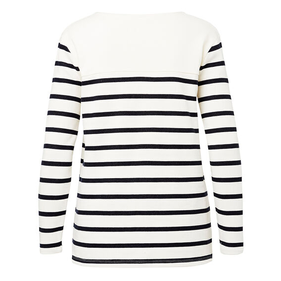 Stripe Terry Sweater  STRIPE  hi-res