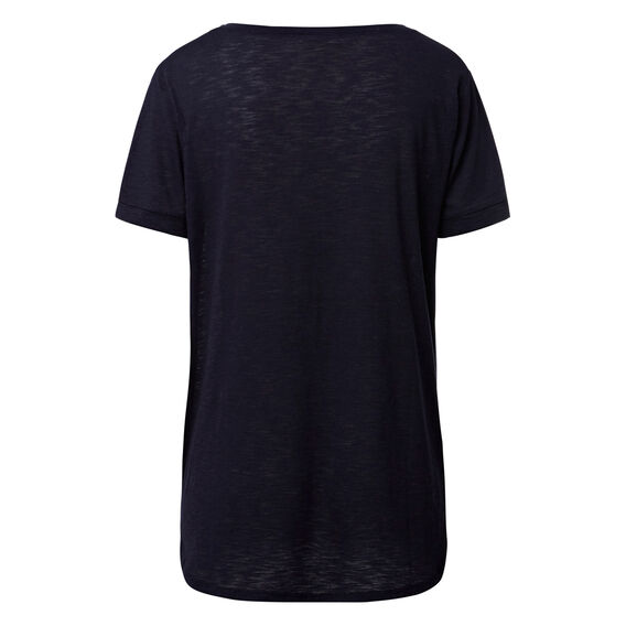 Rolled Cuff Tee  INK BLUE  hi-res