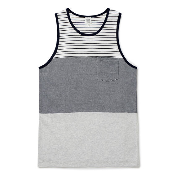 Stripe Tank  MIDNIGHT BLUE  hi-res