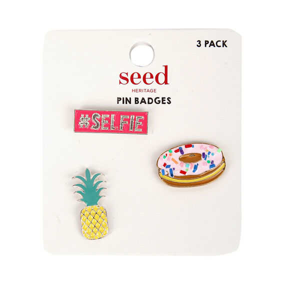 Metal Badges  PINEAPPLE  hi-res