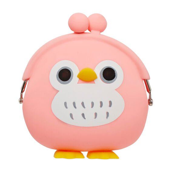 Jelly Penguin Coin Purse  FLAMINGO PINK  hi-res