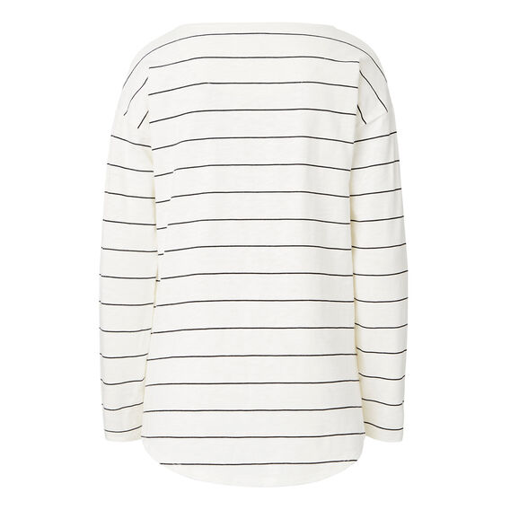 L' Amour Stripe Sweater  CREAM/BLACK STRIPE  hi-res