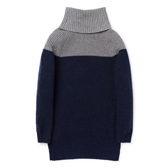 Roll Neck Sweater  NAVY  hi-res