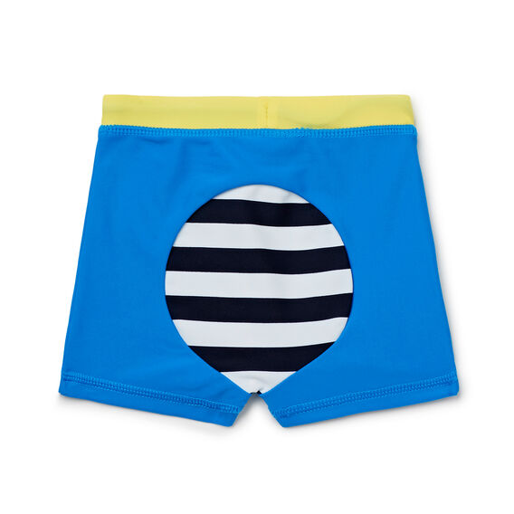 Stripe Bum Swim Short  BERMUDA BLUE  hi-res
