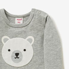 Bear Applique Tee  BIRCHMARLE  hi-res