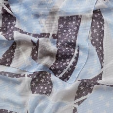 Abstract Star Scarf  MULTI  hi-res