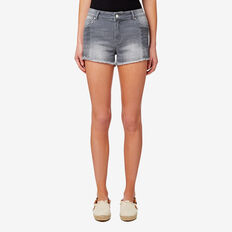 Denim Short  GREY DENIM  hi-res