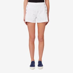 Button Down Short  BRIGHT WHITE  hi-res