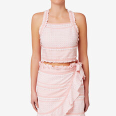 Textured Crop Top  SOFT PINK  hi-res
