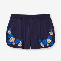 Embroidered Short  MIDNIGHT  hi-res