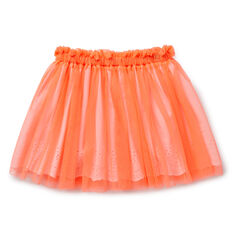 Broderie Tulle Skirt  CORAL POP  hi-res