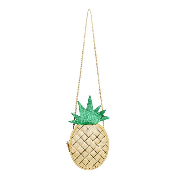 Glitter Pineapple Bag  GOLD  hi-res