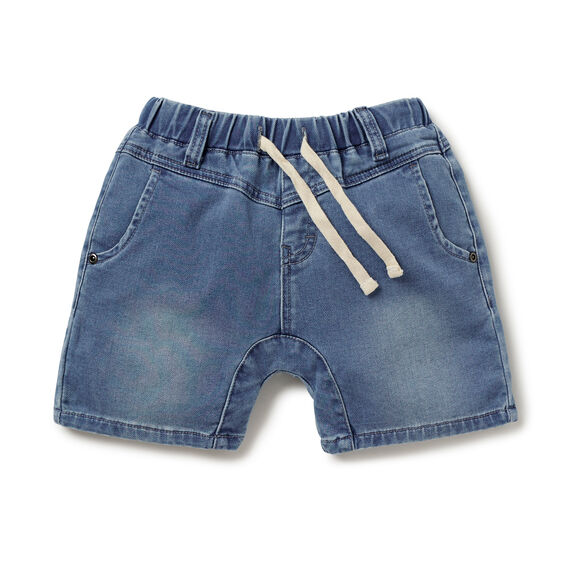 Denim Terry Short  BLUE STONE  hi-res