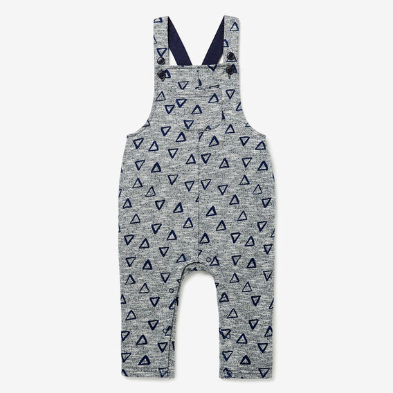 Triangle Terry Overalls  MIDNIGHT SPECKLE  hi-res