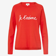 Je T'aime Top  RUBY RED  hi-res