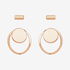 Mixed Stud Set  ROSE GOLD  hi-res