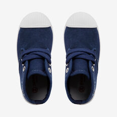 Canvas Bootie  NAVY  hi-res