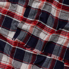 Checked Scarf  MULTI  hi-res