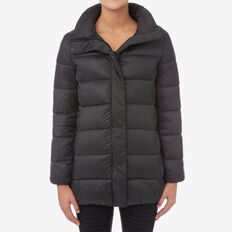 British Puffer Jacket  BLACK  hi-res
